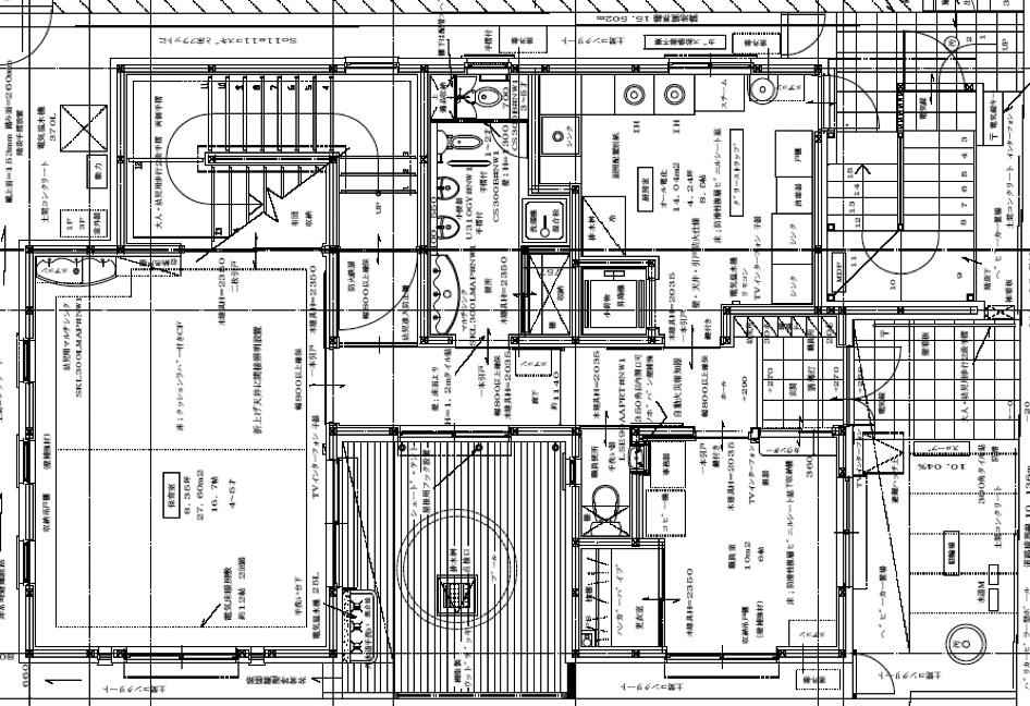 今井西保育園開園 平面図 1階